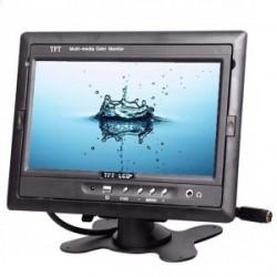 """7"""" monitor zagłówkowy z cyfrowym ekranem LCD o rozdzielczości 800x400 pikseli"""